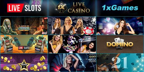 1xbet casino game