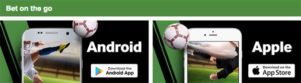 Betway mobile apps