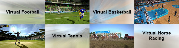 Betway types of virtual sport