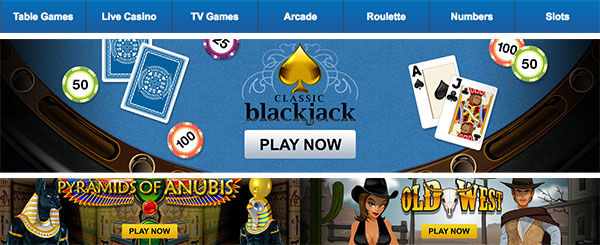 Betin casino games