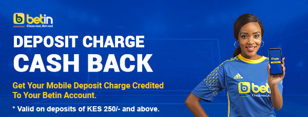 Betin deposit charge cash back
