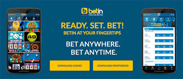 Betin mobile apps