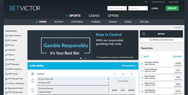 Betvictor site