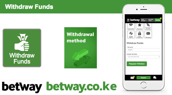 Betway withdraw funds