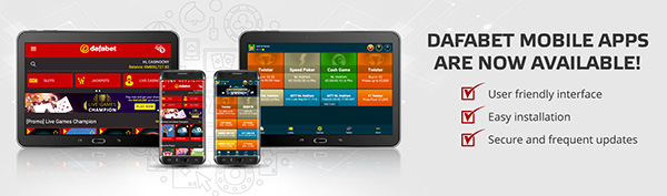 Dafabet mobile apps