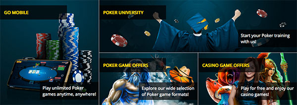 Dafabet poker section