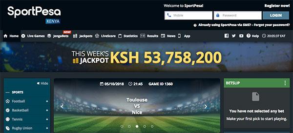 Sportpesa Kenya