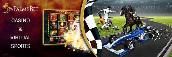 Palmsbet virtual sports and casino games