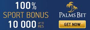 Palmsbet Get KSH 10 000 Bonus